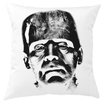 Frankenstein Halloween Pillow Cover