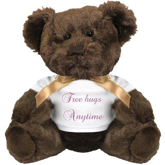 Free hugs anytime
