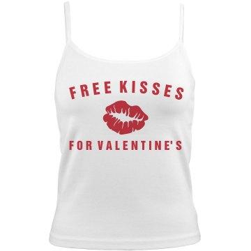 Free Kisses for Valentine