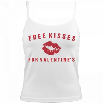 Free Kisses for Valentine