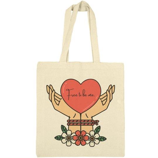 Free to Be Me Tote Bag
