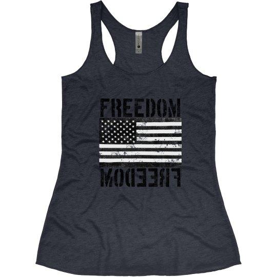Freedom USA Flag