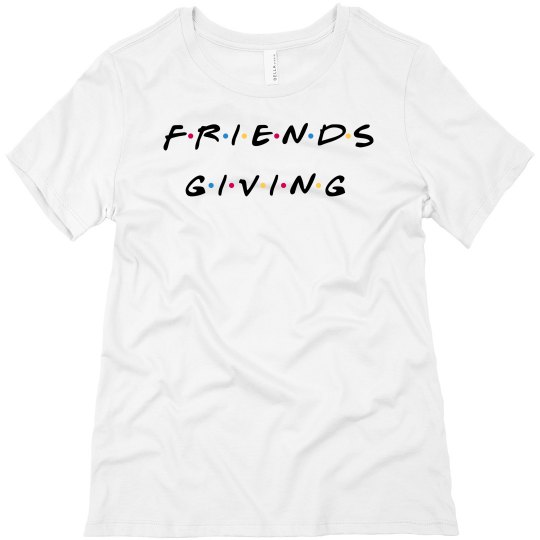 Friends-Giving Thanksgiving Tee