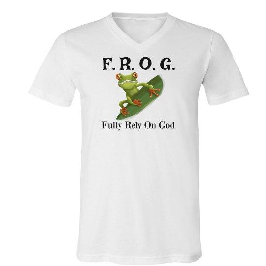 Frog v-neck