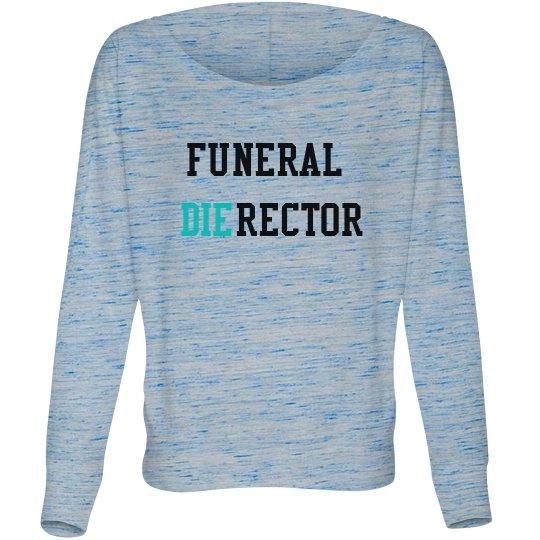 Funeral Director Long Sleeve