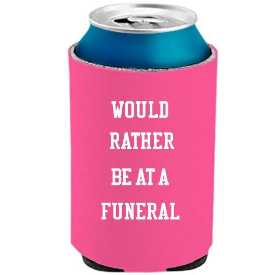 Funeral Drink Cozy