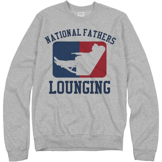 Funny Dad Gift For Lounging Father's Day