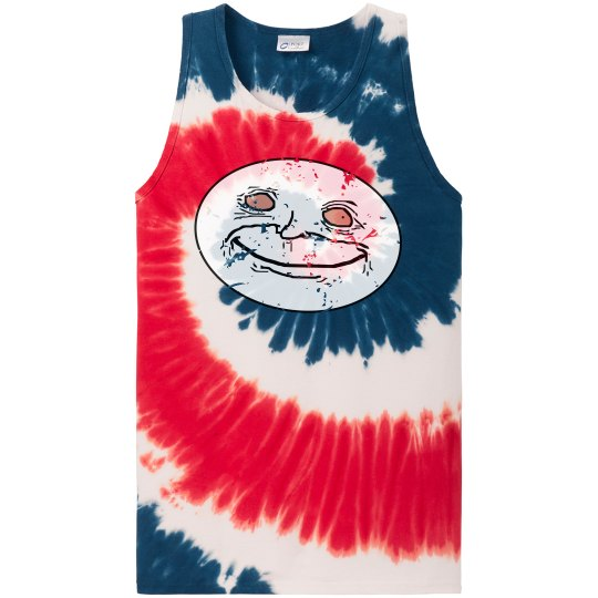 Funny Dude Tie Dyed Tank
