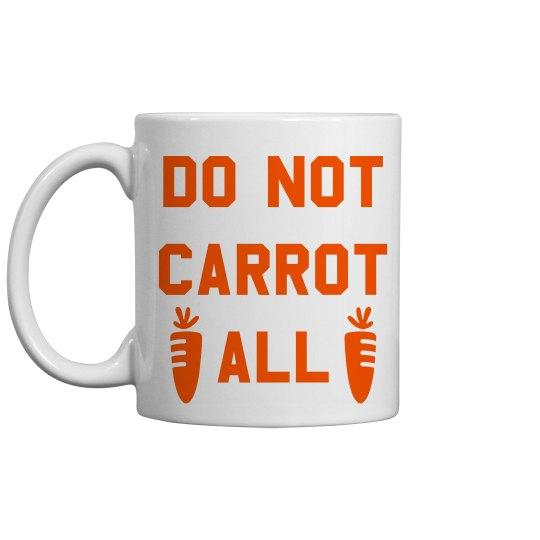 Funny Easter Gift Pun Mug Carrot