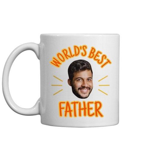 Funny Face Upload World's Best Dad