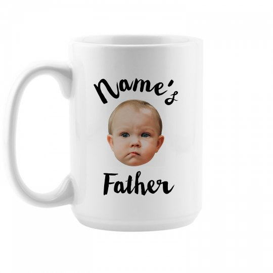 Funny Fathers Day Face Photo Upload