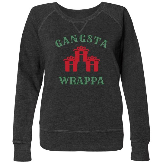 Funny Festive Gangsta Wrappa