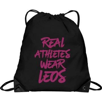 Funny gymnast bag