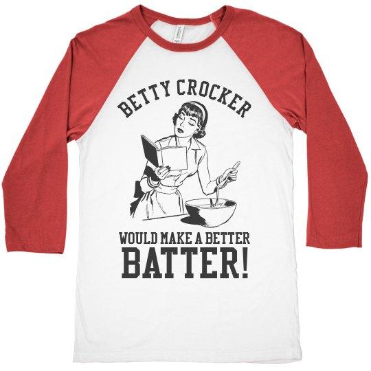 Funny Heckling Baseball Mom Custom Jersey