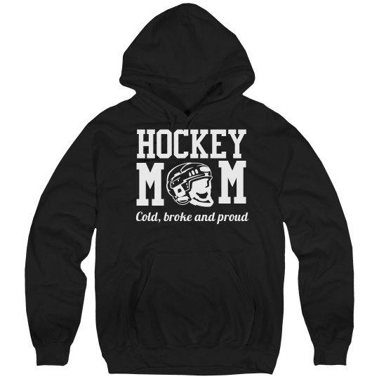 Funny Hockey Mom Pride