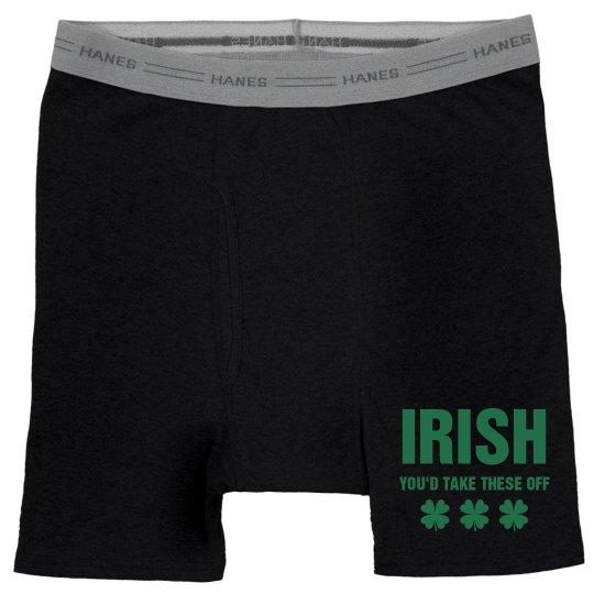 Funny Mens St Patricks Boxers