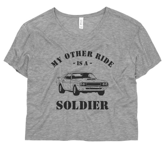 Funny My Other Ride Soldier