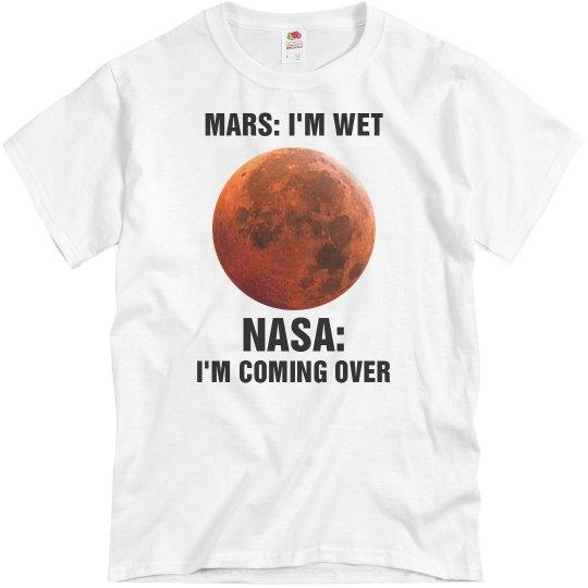 Funny NASA Mars Shirt