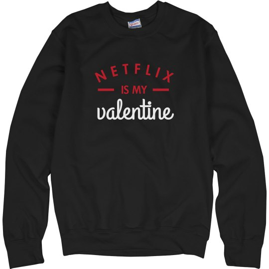 Funny Netflix Valentine Sweater