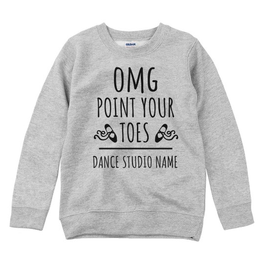 Funny Point Your Toes Dance Studio