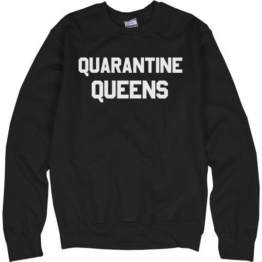 Funny Quarantine Group Leisurewear