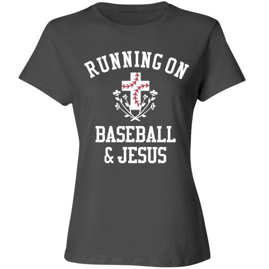 Funny Running On Baseball & Jesus
