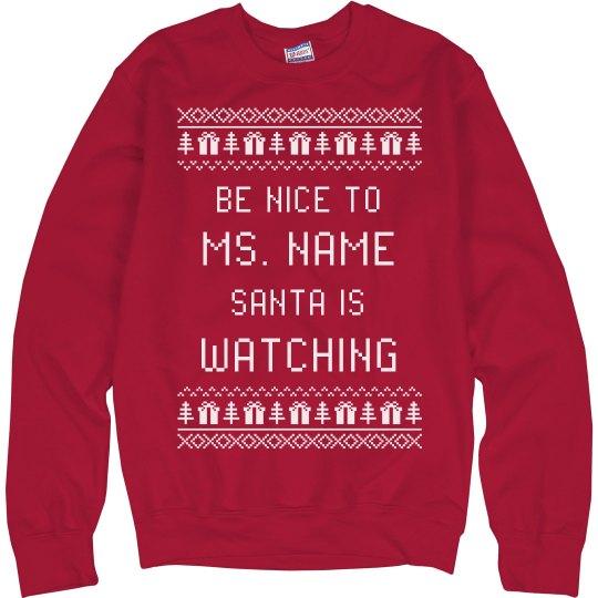 Funny Teacher Ugly Xmas Sweater