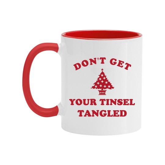 Funny Tinsel Tangled Design