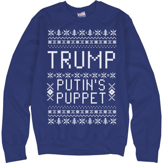 Funny Trump Puppet Sweater
