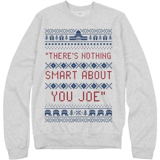 Funny Trump Quote Debate Sweater