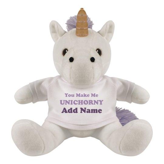 Funny Unicorn Valentine Innuendo