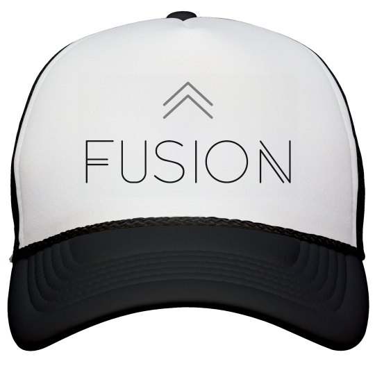 Fusion Trucker Hat - Black
