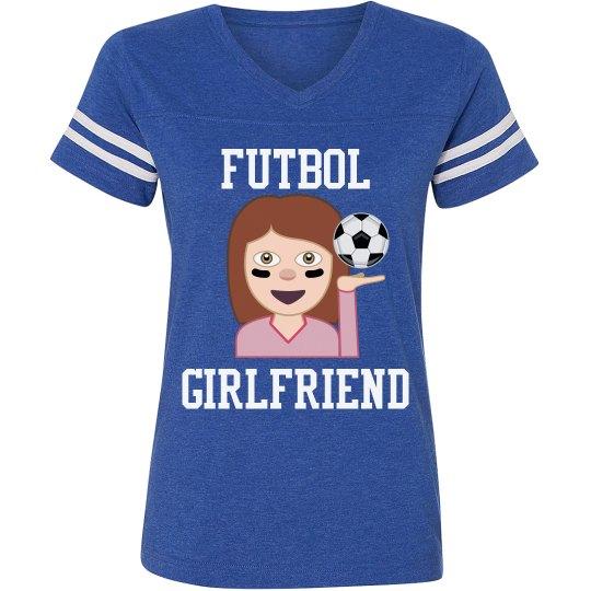 Futbol Soccer Girlfriend