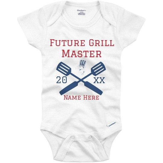 Future Grill Master Custom Name