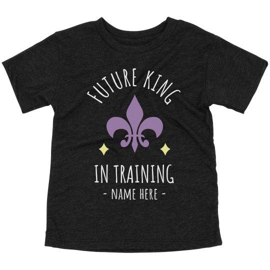 Future King in Training Mardi Gras Toddler