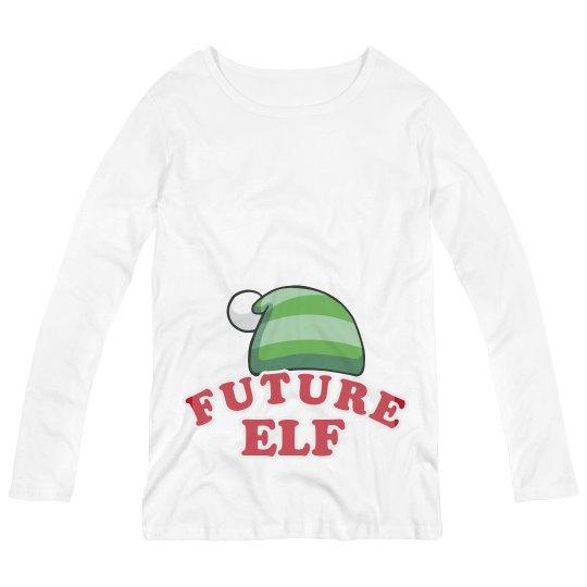 Future Little Xmas Elf Maternity