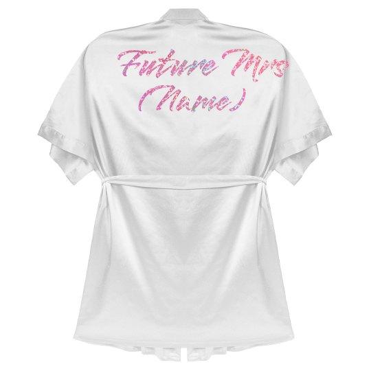 Future Mrs. Glitter Print Custom