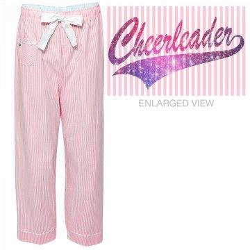 Galaxy Cheerleader PJs