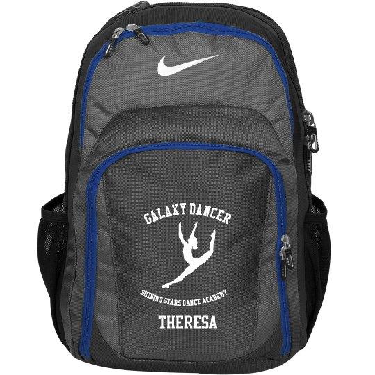 Galaxy Dancer Nike Backpack