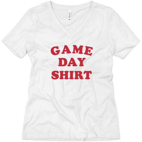 Game Day Shirt Boyfriend Tee