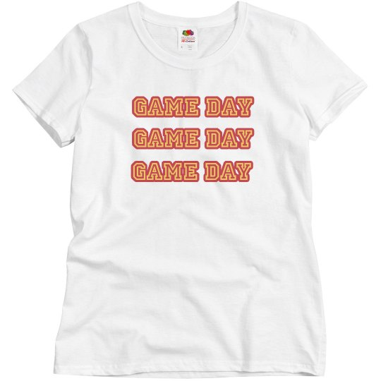 game day tshirt