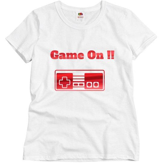Game night shirt