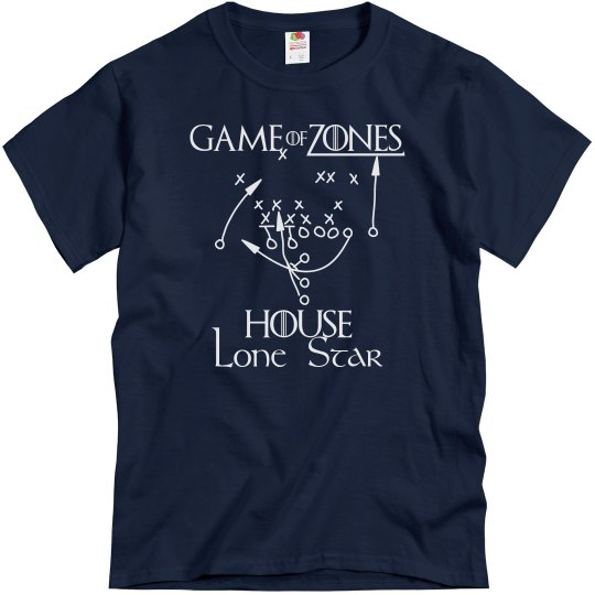 Game of Zones House Football Tee