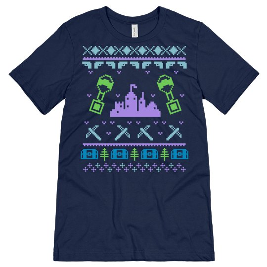 Gaming Fortnite Ugly Sweater Tee