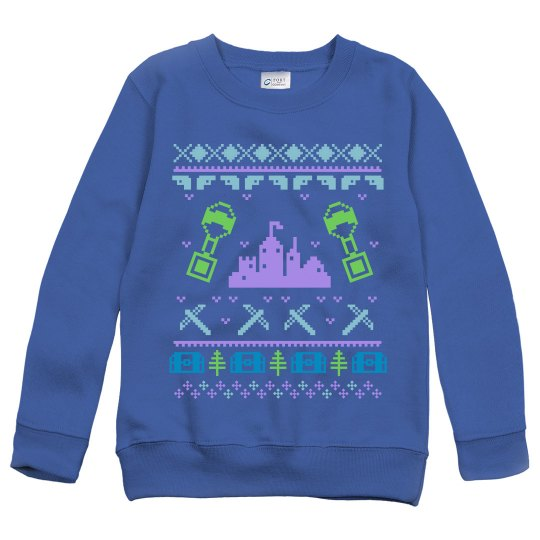 Gaming Fortnite Ugly Sweater