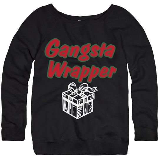 Gangsta Wrapper Pullover