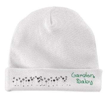 Garden Baby hat