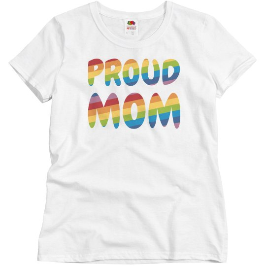 Gay Pride Proud Mom