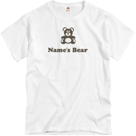 Gay Rights Custom Name's Bear