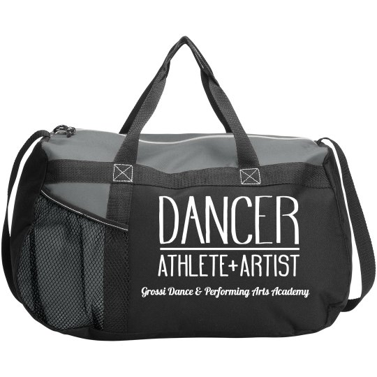 GDPAA Dance Duffle Bag Red & Black